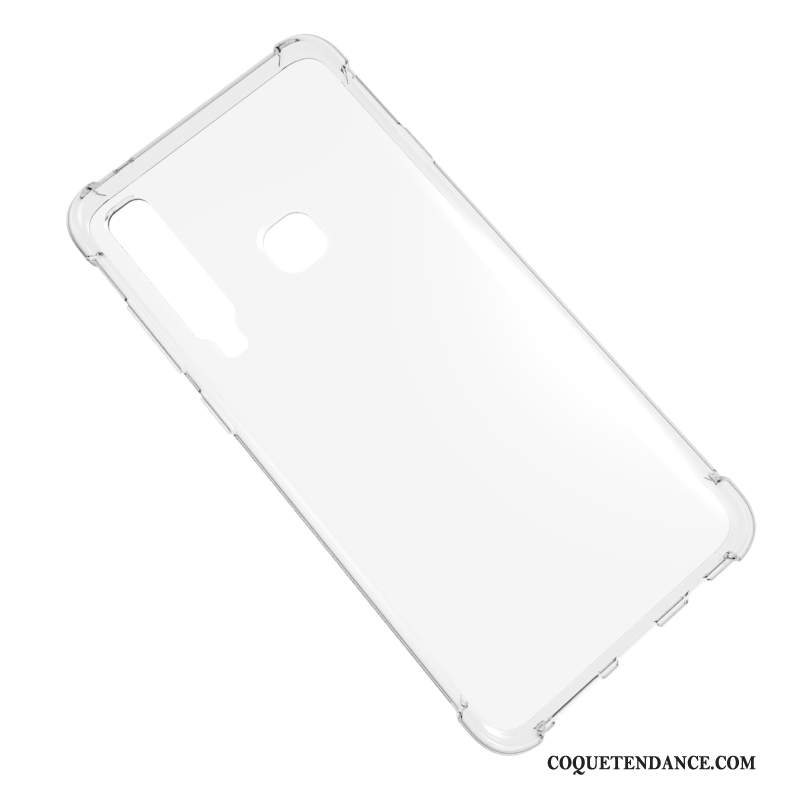 Samsung Galaxy A9 2018 Coque Incassable Transparent Étui Silicone