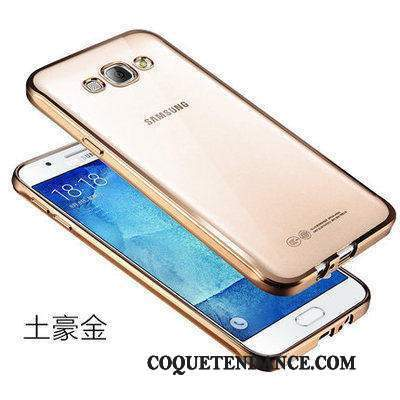 Samsung Galaxy J5 2015 Coque Incassable Protection Or Transparent