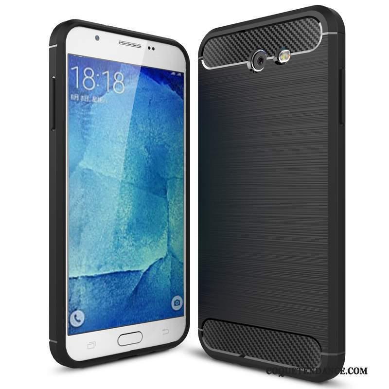 Samsung Galaxy J7 2017 Coque Incassable Protection Fluide Doux Modèle Fleurie Étui
