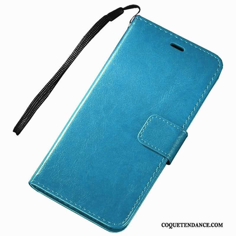 Samsung Galaxy Note 3 Coque Étui En Cuir Bleu De Téléphone Protection