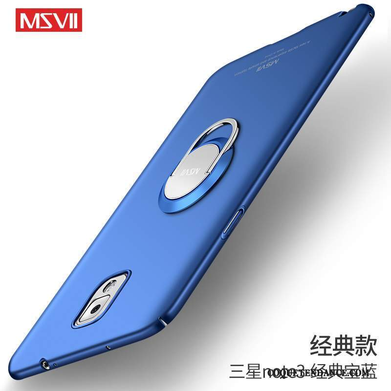 Samsung Galaxy Note 3 Coque Incassable Tendance Délavé En Daim Tout Compris