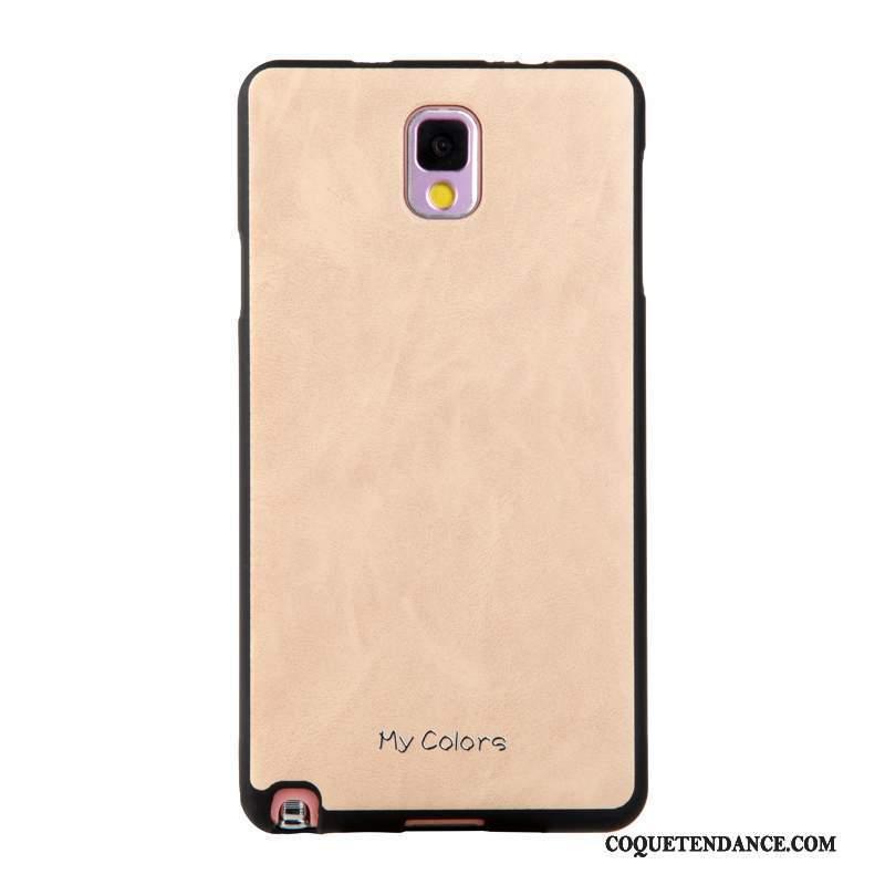 Samsung Galaxy Note 3 Coque Kaki Étui Fluide Doux De Téléphone Business