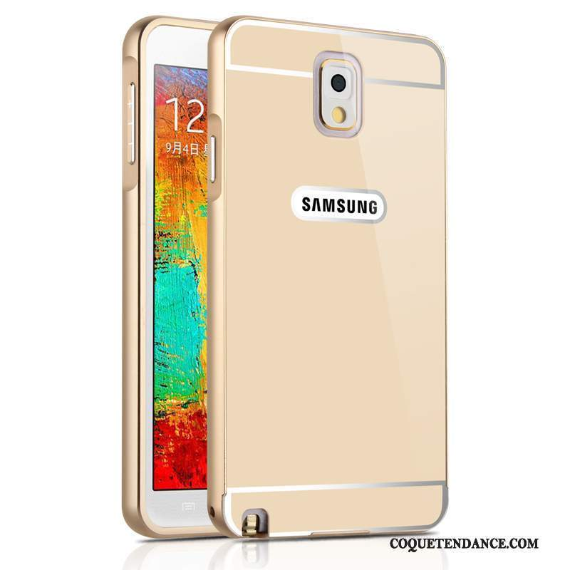Samsung Galaxy Note 3 Coque Protection Border Or De Téléphone