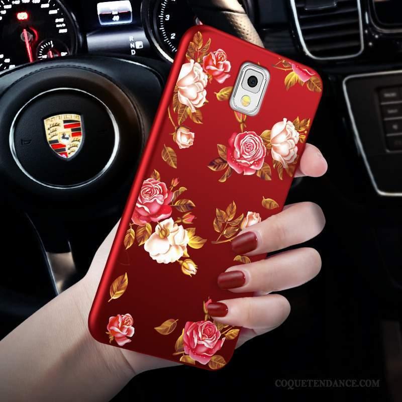 Samsung Galaxy Note 3 Coque Rouge De Téléphone Étui Protection Incassable