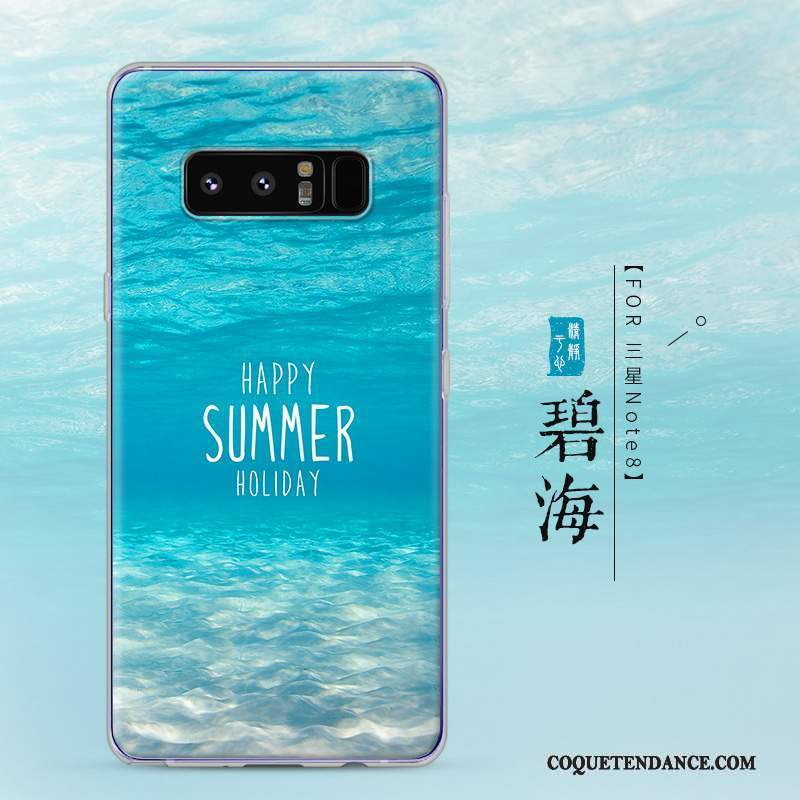 Samsung Galaxy Note 8 Coque Protection Incassable Transparent Créatif Étui