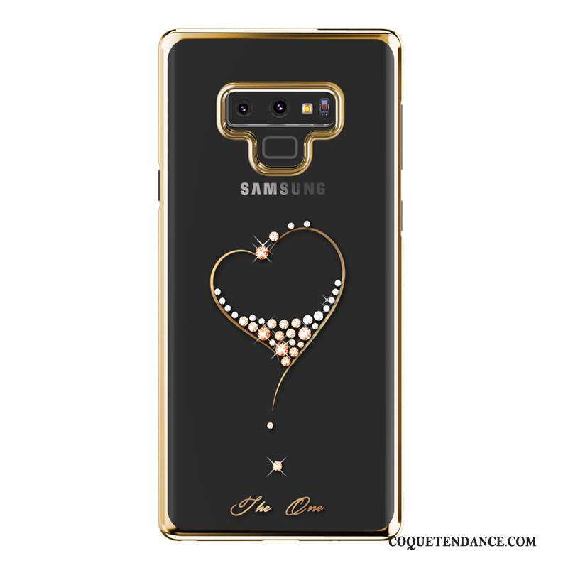Samsung Galaxy Note 9 Coque Protection Strass Incassable Luxe Tout Compris