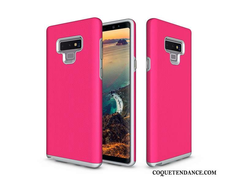 Samsung Galaxy Note 9 Coque Tout Compris Rouge Protection Simple Incassable