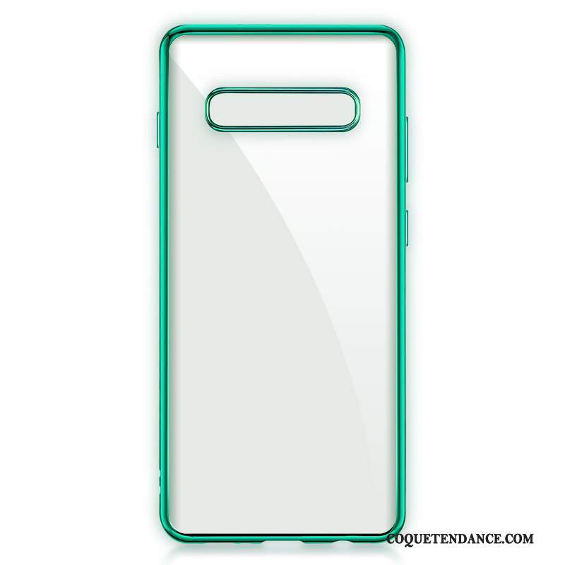 Samsung Galaxy S10 5g Coque Personnalité Placage Silicone Protection Incassable