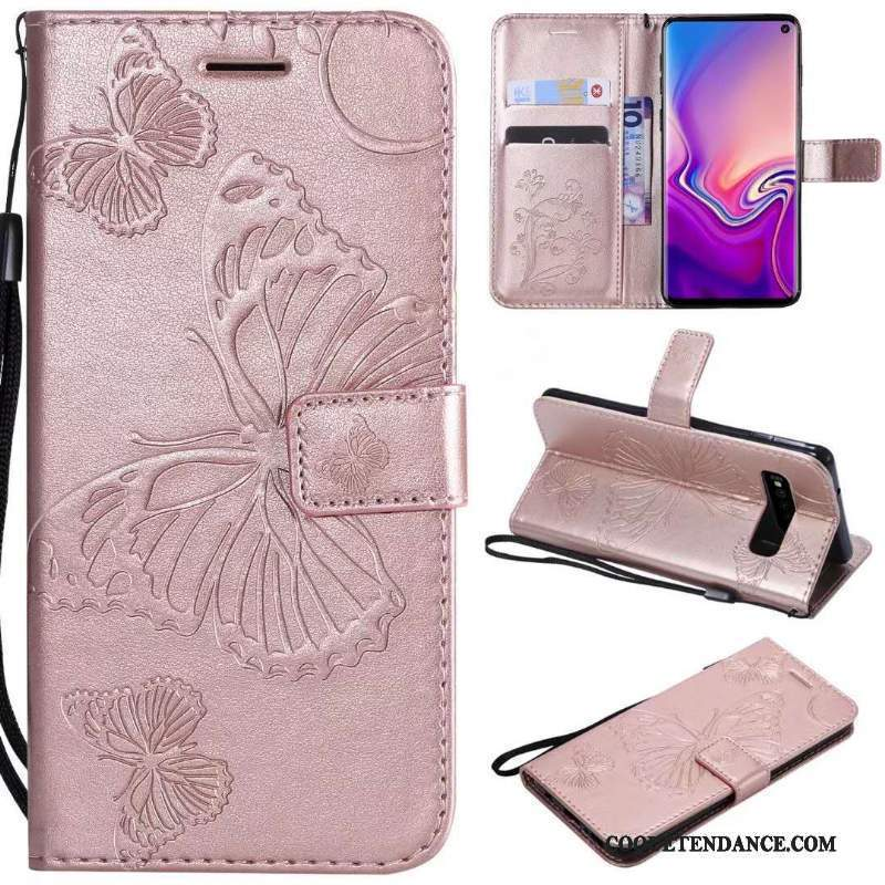 Samsung Galaxy S10e Coque Ornements Suspendus Incassable Protection Étui Housse