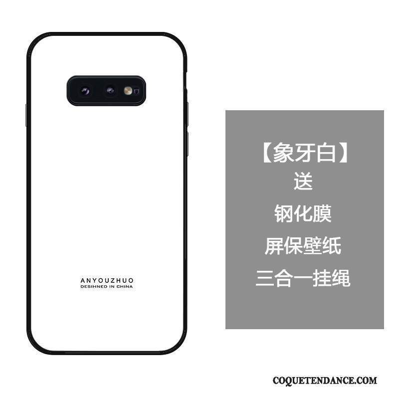 Samsung Galaxy S10e Coque Verre Trempé Simple Protection Incassable Créatif