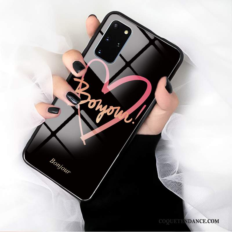 Samsung Galaxy S20+ Coque Protection Verre Miroir Mode Amour