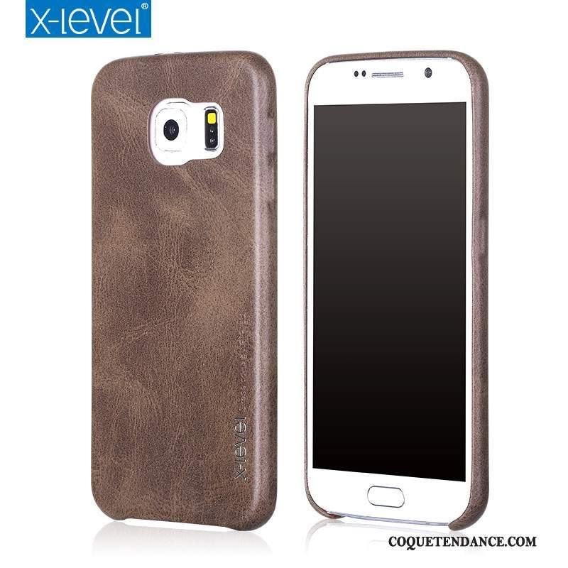 Samsung Galaxy S6 Coque Protection Incassable Business Étui Nouveau