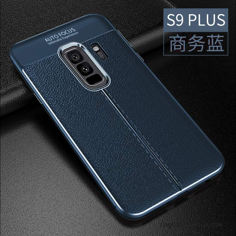 Samsung Galaxy S9+ Coque Protection Incassable Tendance Silicone