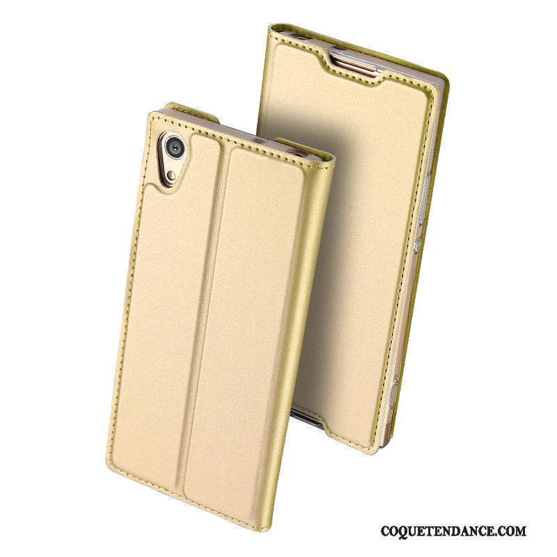 Sony Xperia Xa1 Ultra Coque Business Or Étui Protection Housse