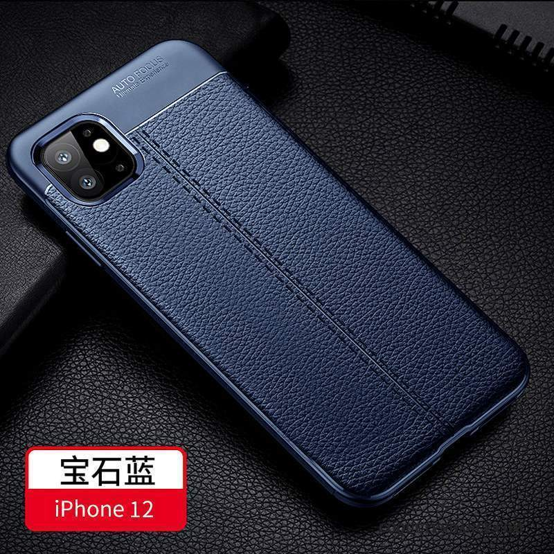 iPhone 12 Coque Luxe Simple Business Protection Incassable