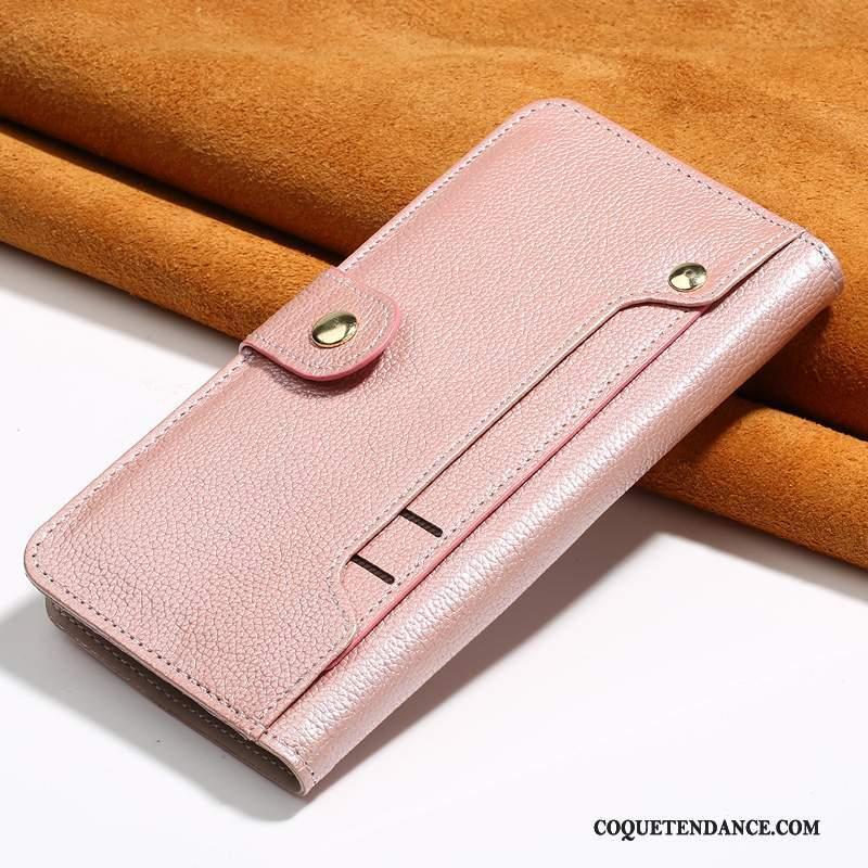 coque iphone 7 plus cuir rose