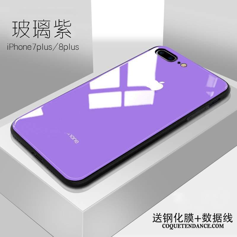 coque violette iphone 8 plus