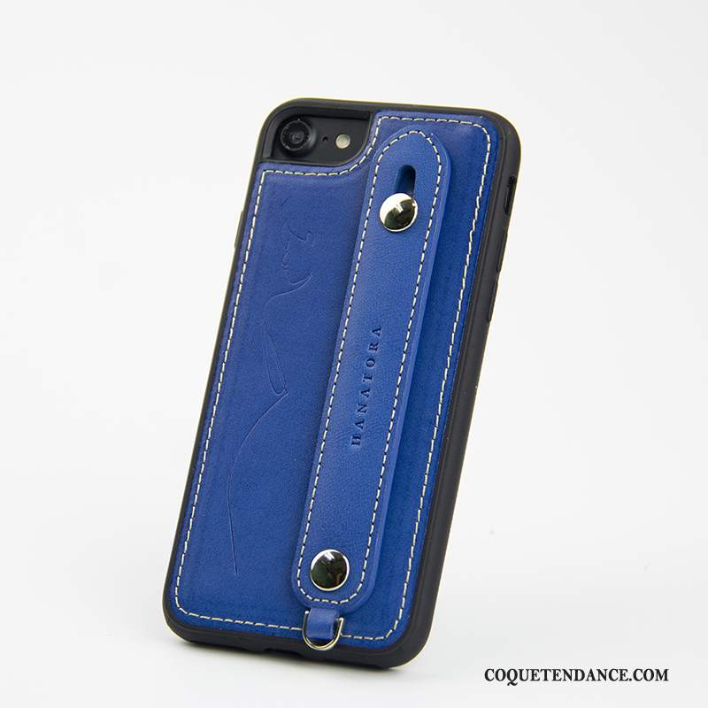 iPhone Se 2020 Coque Incassable Support De Téléphone Protection Tigre