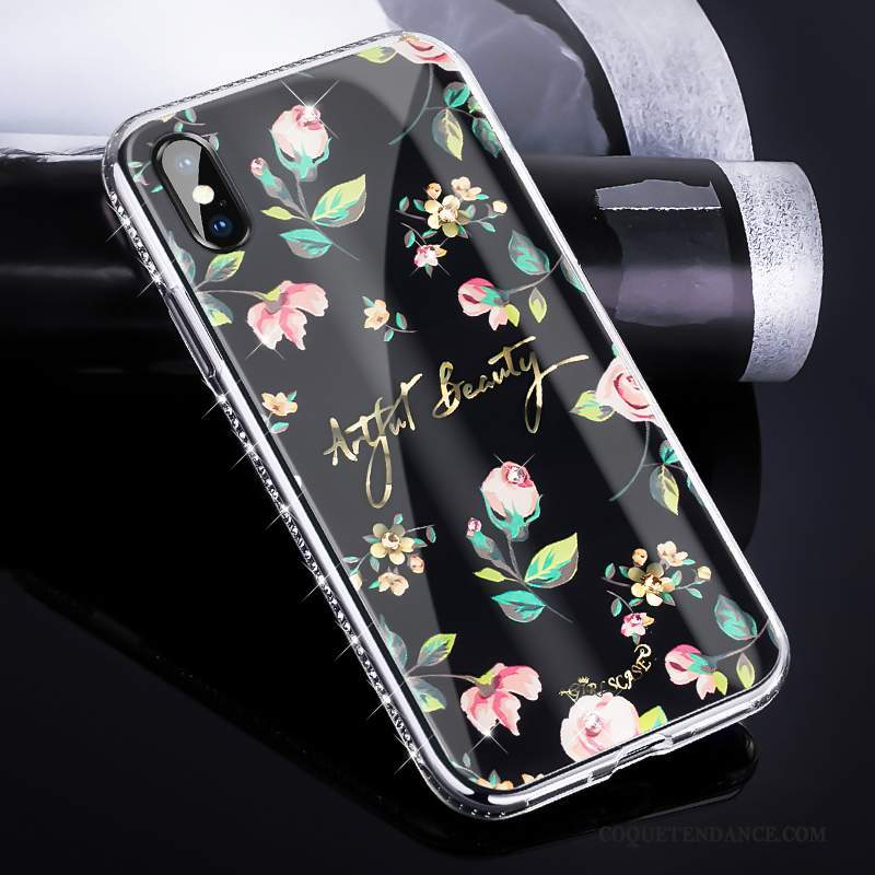 iphone x coque strass